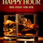 Enjoy Half Price Drinks During Happy Hour